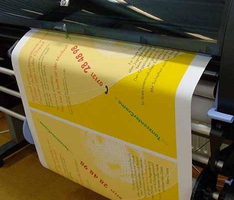 Poster und Banner Druck ob im Grossformatdruck, Fotodruck oder Plattendirektdruck ( Plattendruck ) / Direktdruck