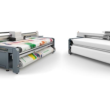 P&M UV Plattendirektdruck ( Plattendruck )/ Direktdruck System